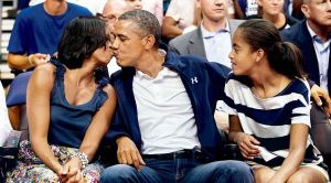 The President and First Lady engage in PDA quite often. Is there anything wrong with it, or is there a line that can't be crossed?